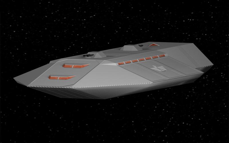 Galactic Imperium Vindex Class Frigate