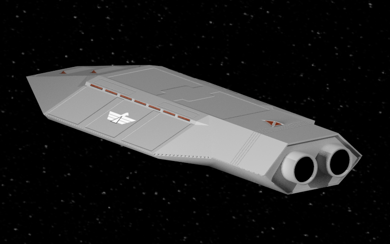 A Vindex support ship