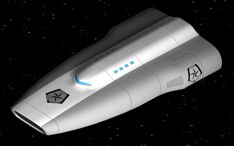 A Venture Class Courier of the Interstar Corporate Authority